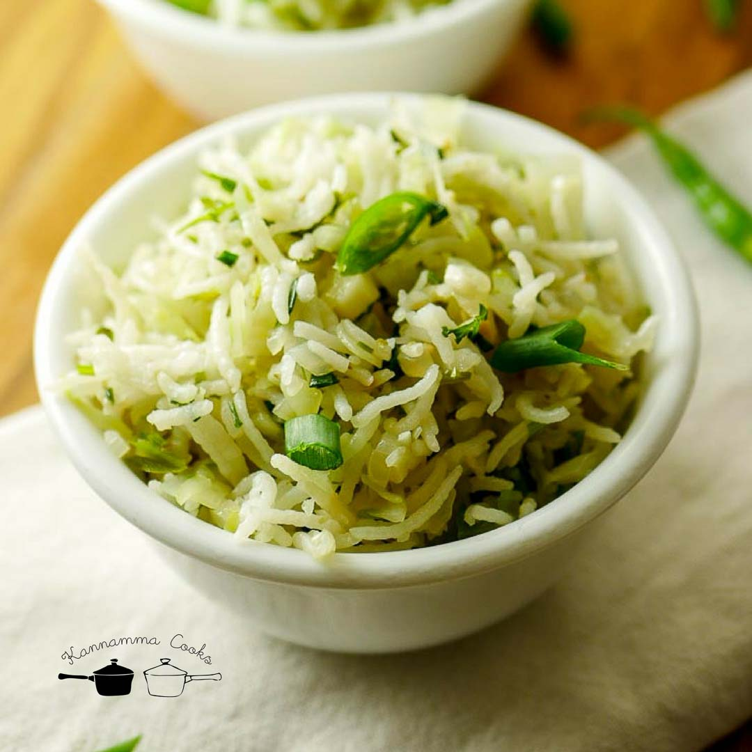 cabbage fried rice cabbage rice recipe-12