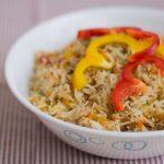 capsicum-rice-bell-pepper-rice