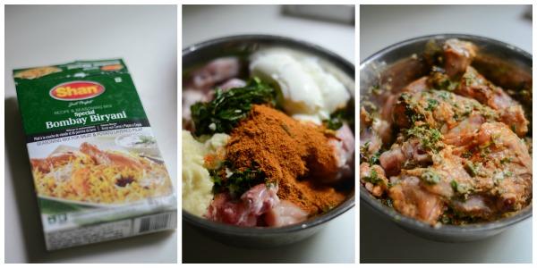 chicken-biryani-using-biryani-masala-marinate