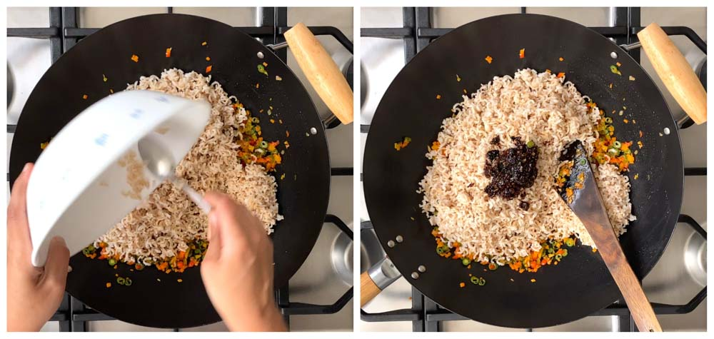 chilli-garlic-fried-rice-with-brown-rice-healthy-recipe-14