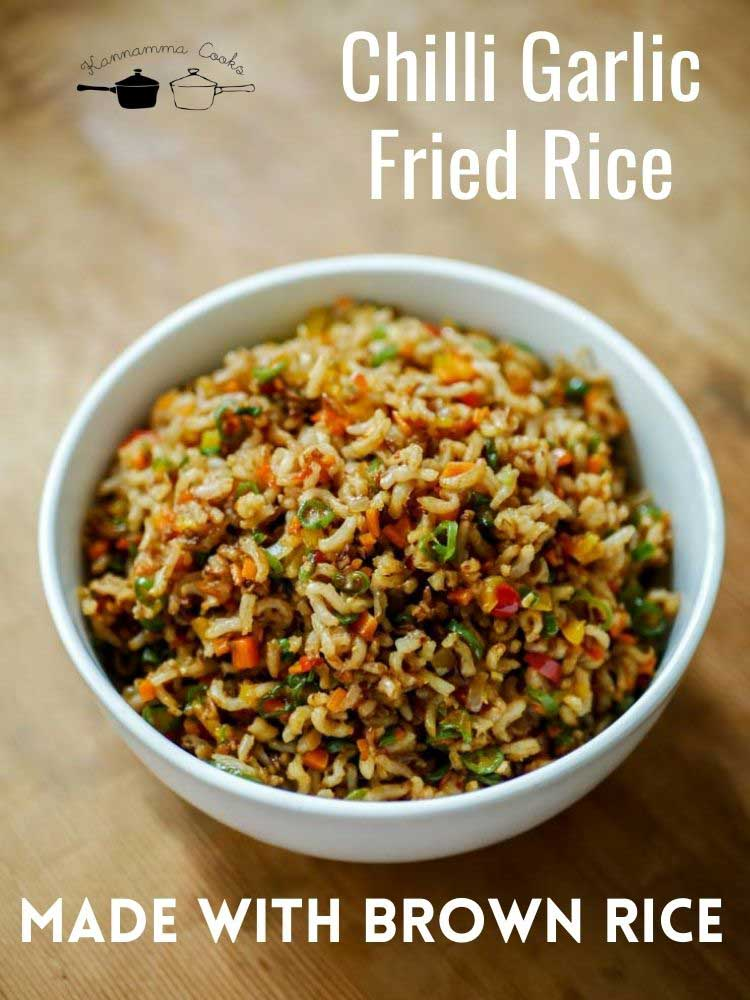chilli-garlic-fried-rice-with-brown-rice-healthy-recipe-16a