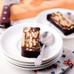 Chocolate Biscuit Cake Recipe made with Digestive biscuits