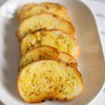 Garlic Bread, Garlic Bread on Tawa, Easy Pan fried Garlic Bread Recipe