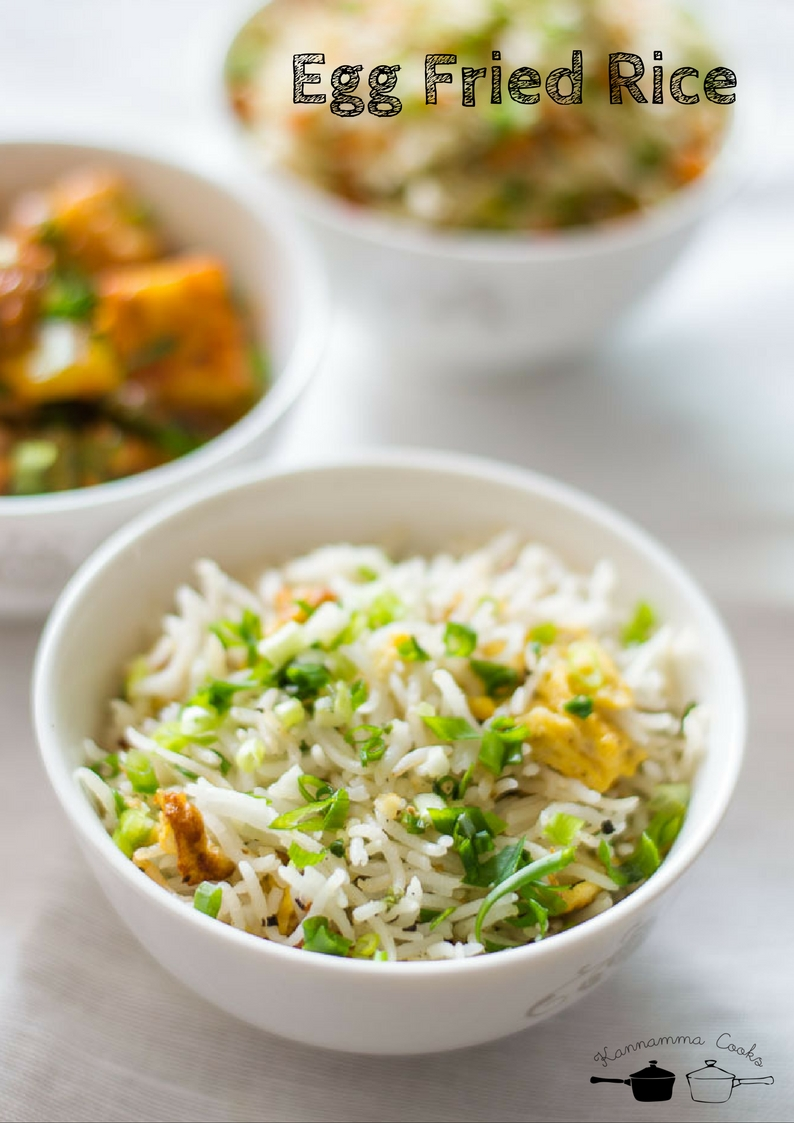 Egg fried rice recipe how to make egg fried rice indian style egg fried rice yum forumfinder Image collections