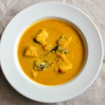 Fish Curry in Ginger and Coconut Milk Sauce, Quick fish curry