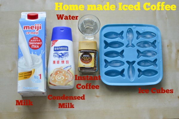 homemade-iced-coffee-ingredients
