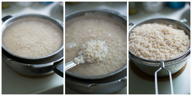 how-to-cook-kerala-matta-rice-pressure-cooker-drain