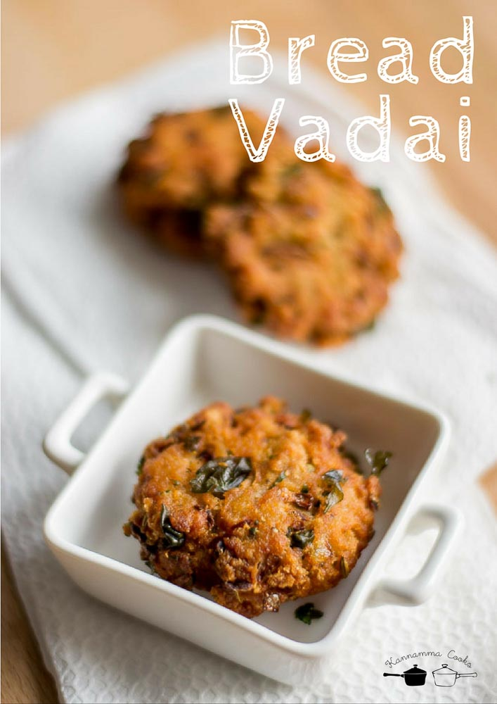 Bread vadai recipe how to make vadai with bread loaf instant bread vadai forumfinder Image collections