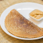 கம்பு தோசை-Kambu (Bajra) Dosai | Fermented Pearl Millet Crepe-Gluten free and Vegan