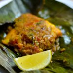 Meen Pollichathu – Fish cooked in banana leaves