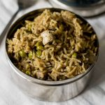 mushroom-pepper-pulao-recipe