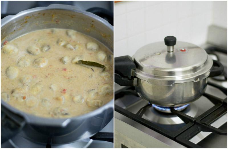 mushroom-salna-recipe-kaalan-salna-parota-chapati-side-dish-7