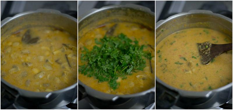 mushroom-salna-recipe-kaalan-salna-parota-chapati-side-dish-8