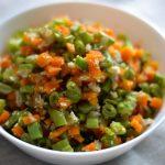 5 minutes poriyal / thoran – Flashed veggies