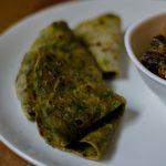 Palak Chapati, Spinach Chapati Recipe