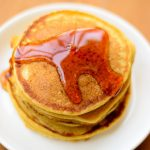 Pumpkin Pancakes with Homemade Pumpkin Puree