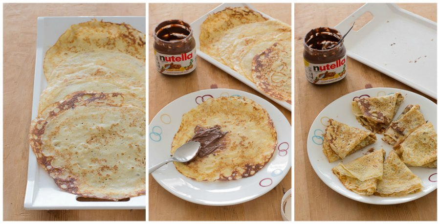 quick-and-easy-Brown-butter-hazelnut-chocolate-nutella-crepes-recipe-plating |kannammacooks.com #brown #butter #crepe #dessert #breakfast #yummy