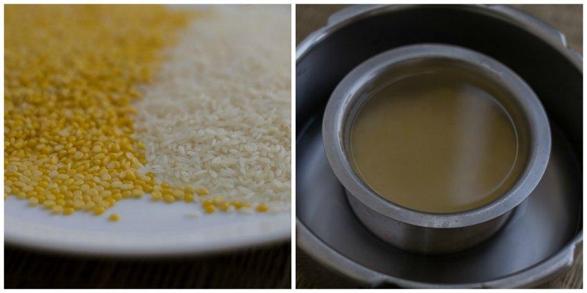 sakkarai-pongal-chakkara-pongal-recipe-sweet-pongal-neivedhyam-pongal festival-cook-rice-and-dal