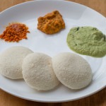 Make soft Idli using Rice Rava – Mixie Method