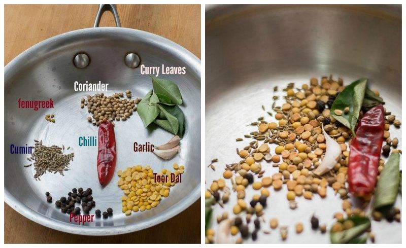 south-indian-Tomato-rasam-with-rasam-powder-garlic-tamil-recipe-rasam-powder
