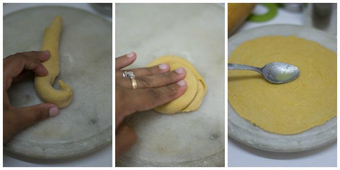 spring-onion-paratha-recipe-second-roll