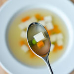Thai Clear Soup, Thai Tofu Veggie Soup in Homemade Aromatic Broth