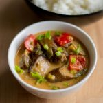 Thai Red Curry With Vegetables and Coconut Milk