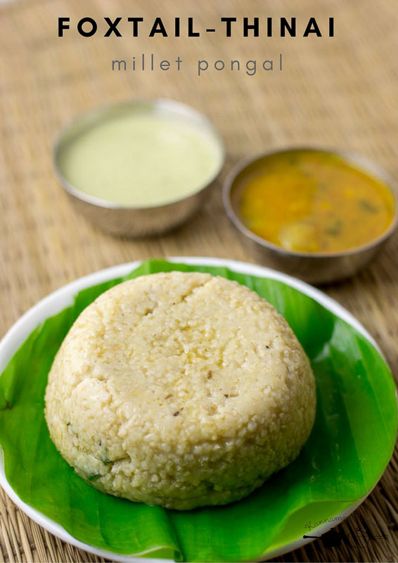 thinai-pongal-millet-pongal-recipe-6