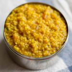 Thinai Sambar Sadam, Foxtail Millet Sambar Rice Recipe
