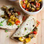Veggie scramble, Veggie Breakfast Scramble, Healthy zero oil recipe