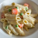 Pasta with White Sauce Recipe, White Sauce Pasta
