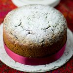Whole Wheat Plum Cake, Christmas Plum cake made with Atta